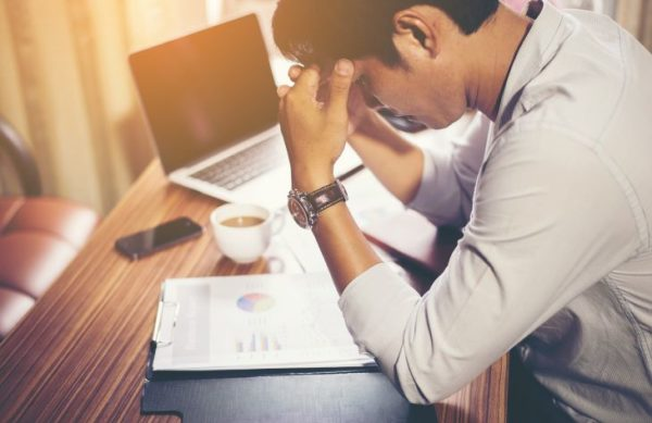 Top 5 causes of stress at work